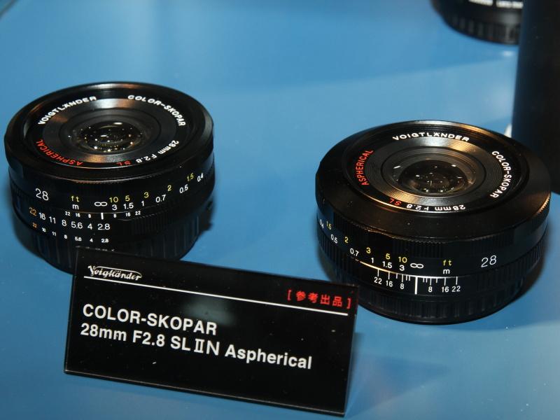 The new Voigtländer Color Skopar 28/2.8 SL II. Picture by DC Watch