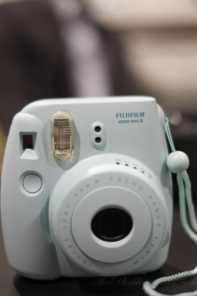 Chris Gampat The Phoblographer CES 2013 Fujifilm first impressions instax mini 8 (1 of 5)ISO 16001-850 sec at f - 1.4
