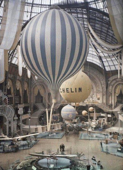 Exposition au Grand Palais - 1909