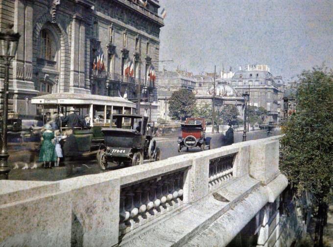Quai d'Orsay - 1923