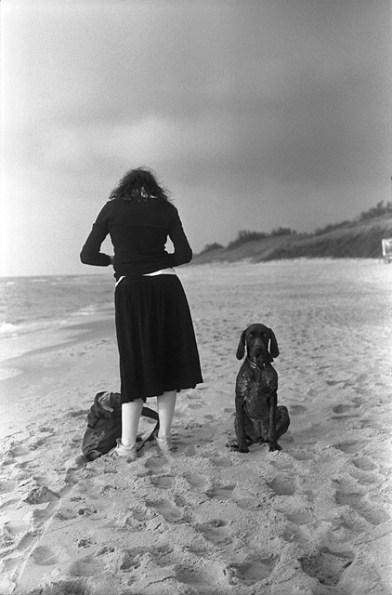 """A Girl and A Dog"" - Andrej Vasilenko"