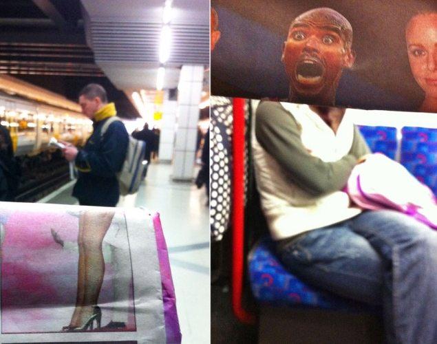 commuter-newspaper-photobombs