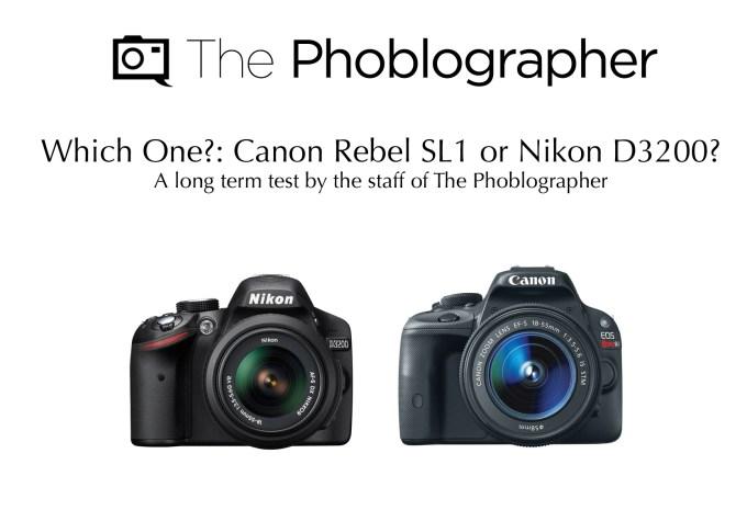 Canon-SL1-vs-the-Nikon-D3200-The-Phoblographer
