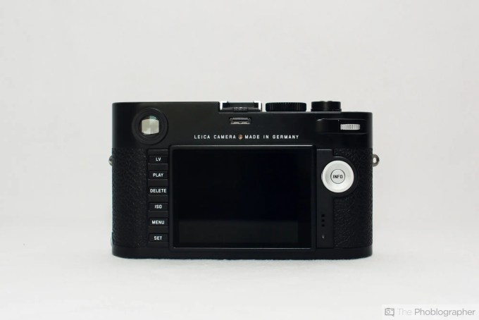 Felix Esser The Phoblographer Leica M Typ 240 Review Rear View