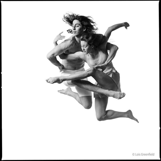 Daniel Ezralow and Ashley Roland