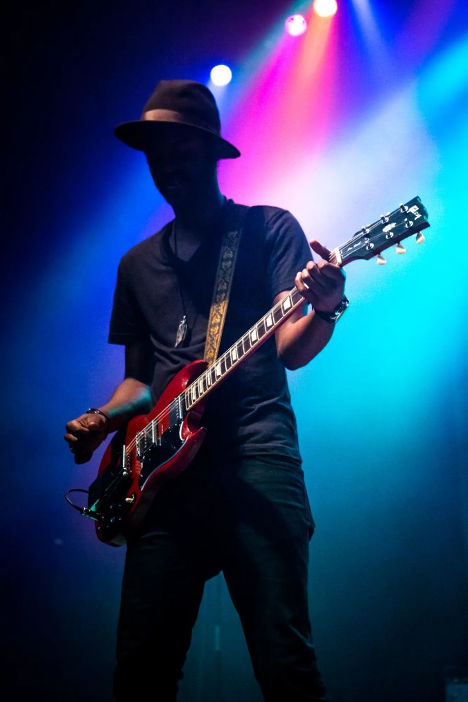 Gary Clark Jr. at The Pageant in St. Louis on July 23rd, 2014.