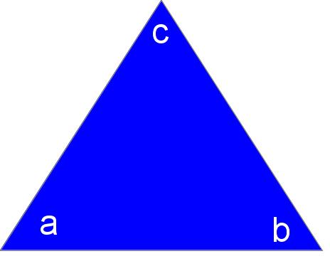 a humble triangle