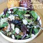 Pear and Gorgonzola Salad recipe