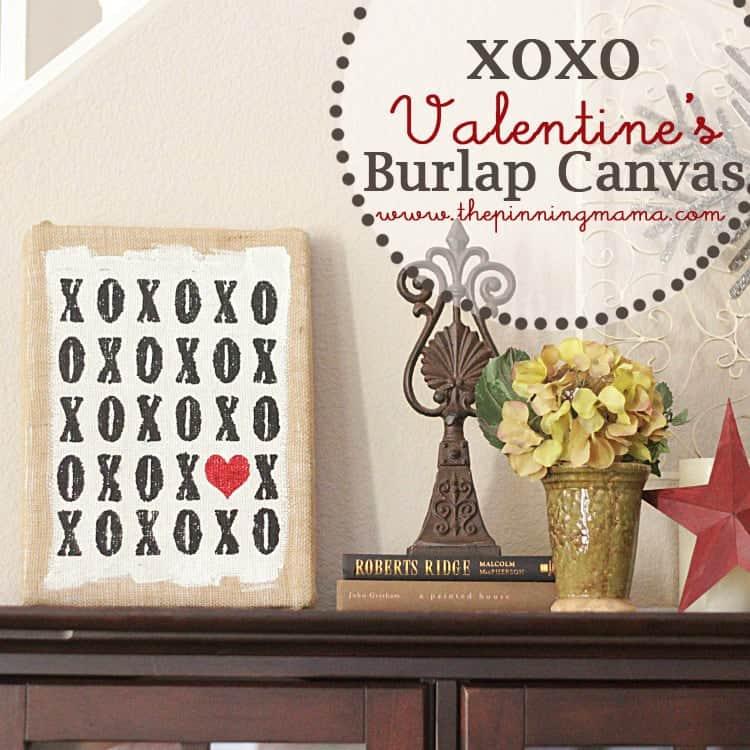 XOXO DIY Valentines Decor