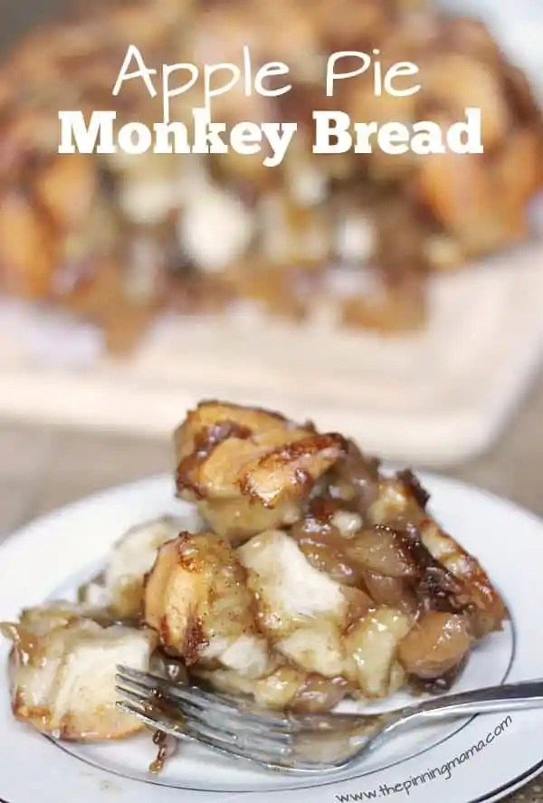 Apple Pie Monkey Bread recipe... every bit as delicious as it sounds!