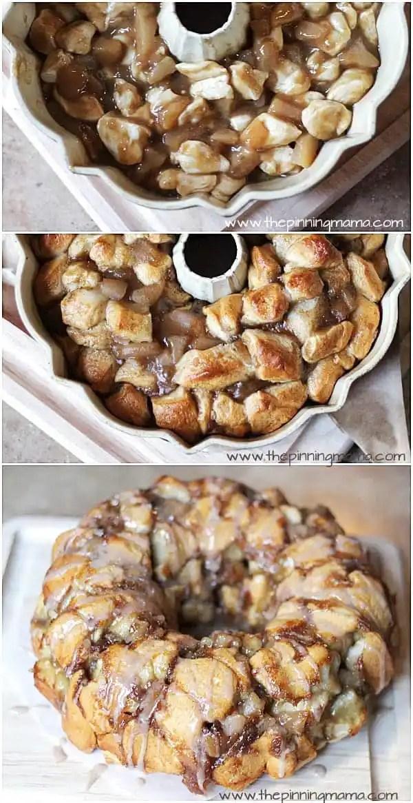 Apple pie monkey bread. This is a great idea!