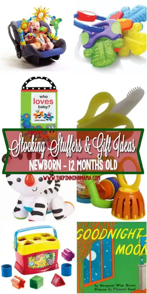 Baby gift ideas 9 month old : Stocking stuffers small gifts for a baby the pinning mama