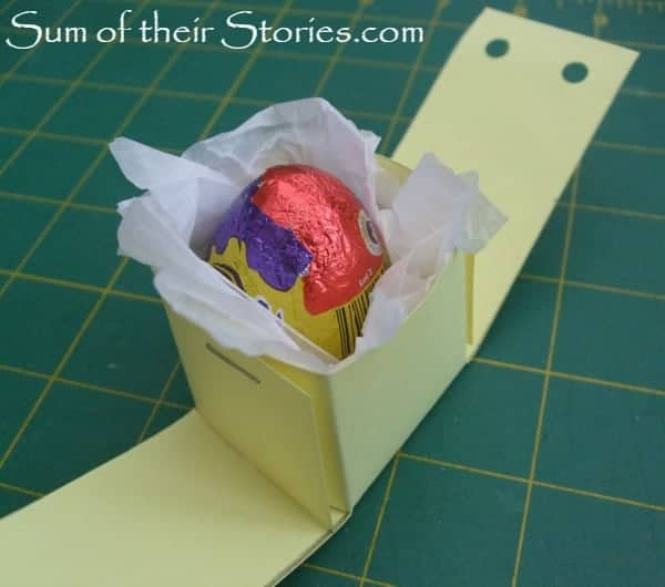 tissue paper and egg