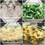 Easy Broccoli Cheese Recipe- Bake creamy broccoli cheese soup over chicken. Add broccoli and cheddar for a delicious dinner in minutes!