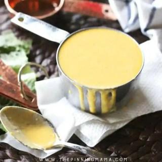 Easy Homemade Garlic Cheese Sauce Recipe