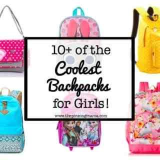 10+ Coolest Backpacks for Girls: Polka Dot Messenger| www.thepinningmama.com
