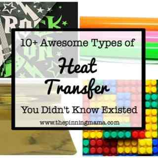 10+ Awesome Types of Heat Transfer You Didn't Know Existed| www.thepinningmama.com