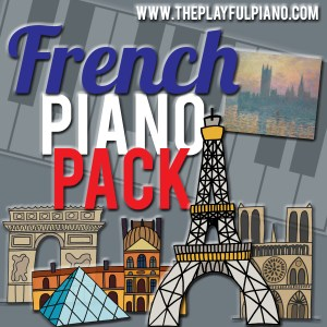 French Piano Pack