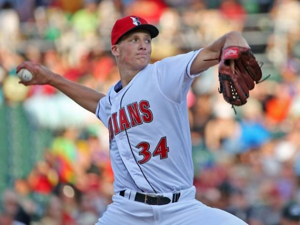 Glasnow is on the precipice of the Majors. Will his value equate to what pitchers of his caliber have contributed in the past? Photo by Kelly Wilkinson/Indy Star