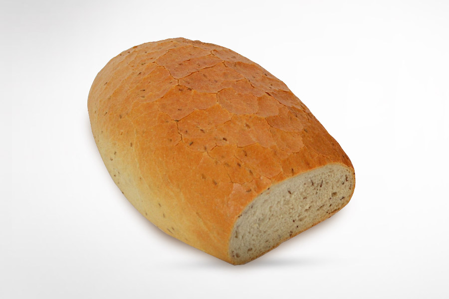 Traditional Polish Sourdough Bread with Caraway Seed 800g