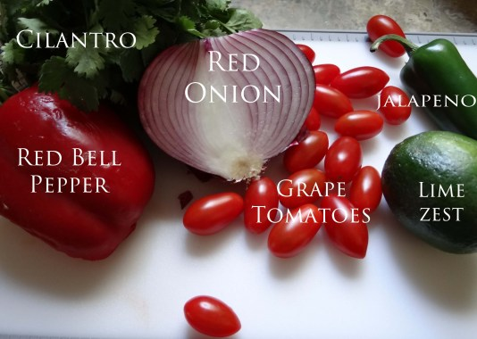 Here are some of the fresh ingredients you will need.