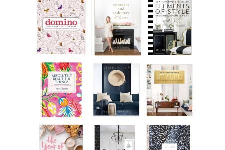 favorite home decor coffee table books