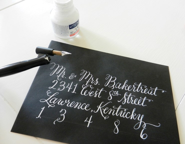 How to Use an Oblique Calligraphy Pen | The Postman's Knock