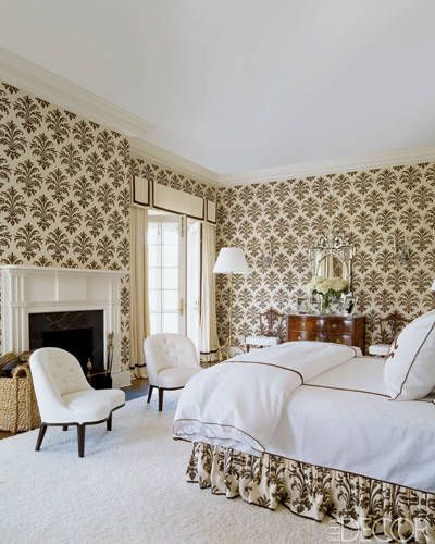 Aerin Lauder Hampton Master via Elle Decor