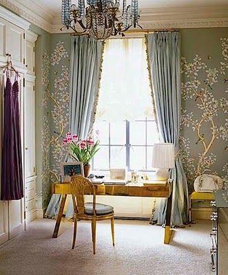 Aerin Lauder's Closet via Habitually Chic