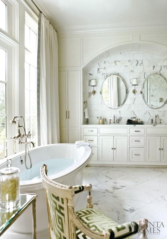 Bathroom with Char