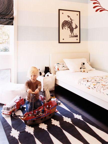 Boy room via Babble