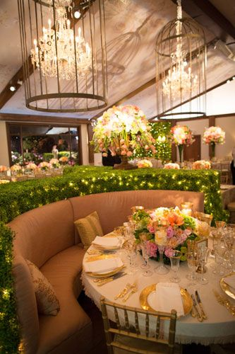 Chandelliers in Bird Cages via Todd Events