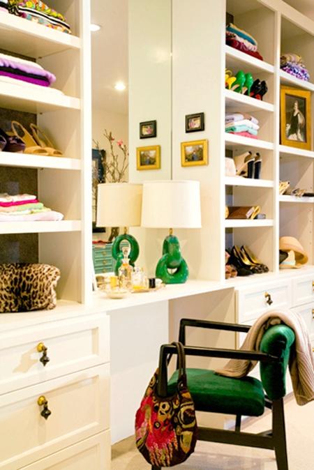Green Closet via Pinterest