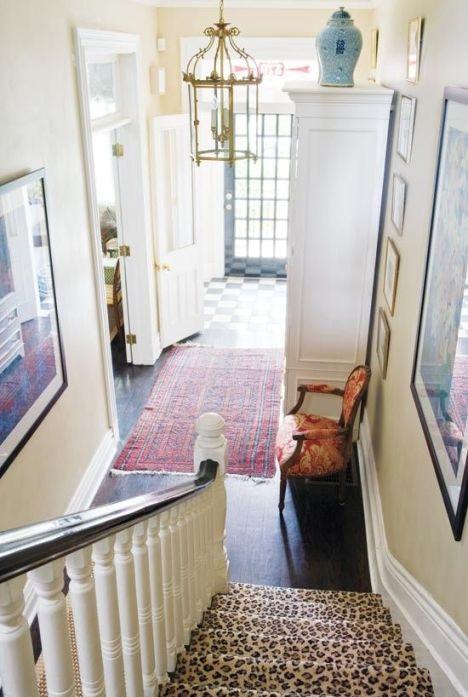 Leopord Stairway via La Dolce Vita Blog