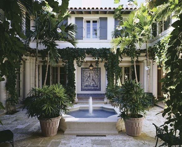 Palm Beach Home via Ferguson and Shamamian