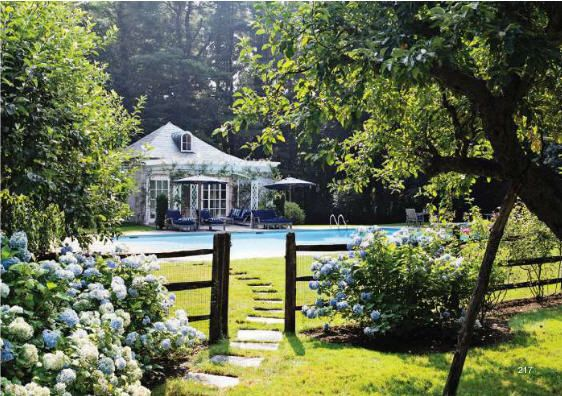 Patricia Lansings Hampton Home via Elle Decor