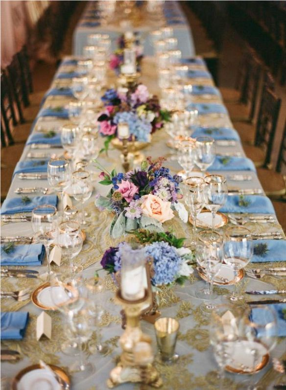 Rustic Glam wedding Photo by Braedon Photography via Style Me Pretty