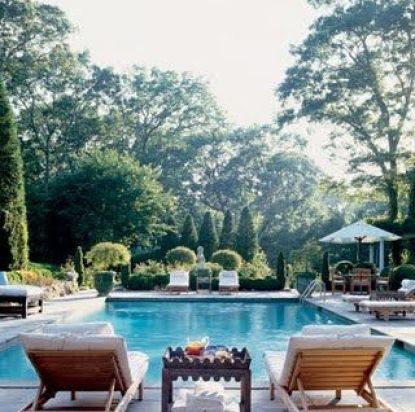 Seating for Two Pool via Pinterest