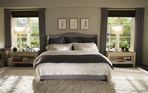 The Holiday LA Bedroom via Pinterest