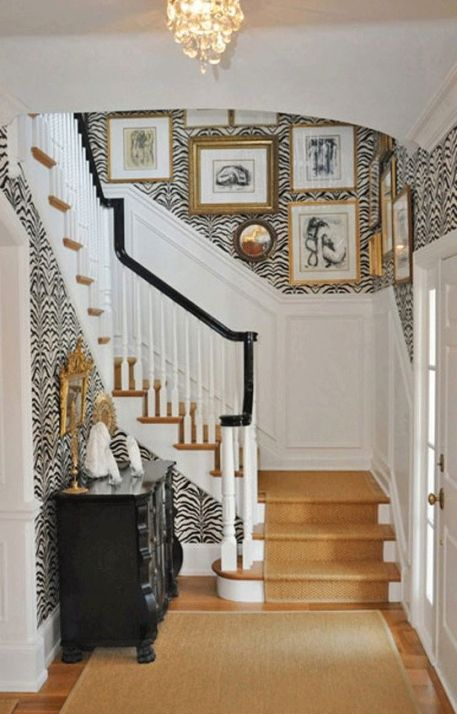black white and gold_ via elements of style blog