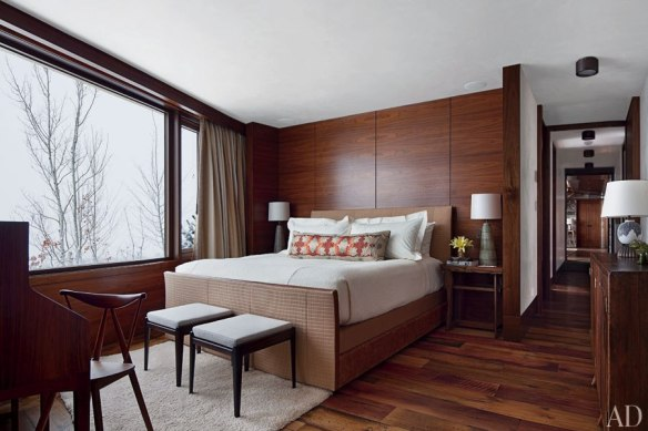 A modern guest room designed by Studio Sofield