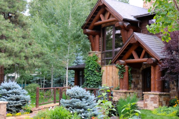 Aspen Home with Bridge 1