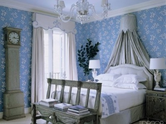 Bedroom by Miles Redd via Elle decor