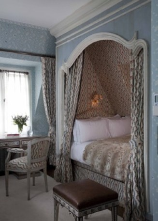Bedroom by Nicky Haslam Design via website