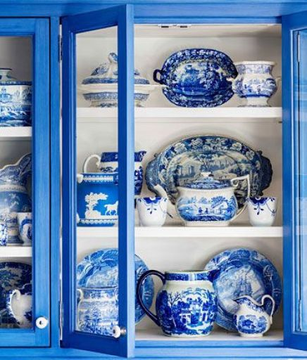 Blue and White Kitchen by Beth Martell and Enda Donagher in HB