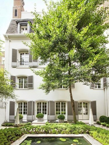 Bunny Mellon's Townhome via FDAMH
