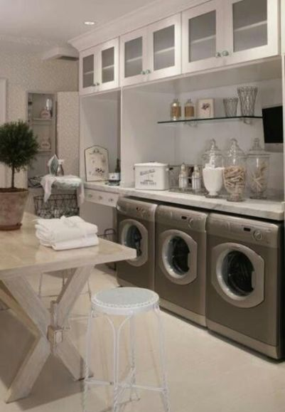 Functional Laundry and Utility Room
