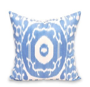 Furbish Blue Silk Ikat