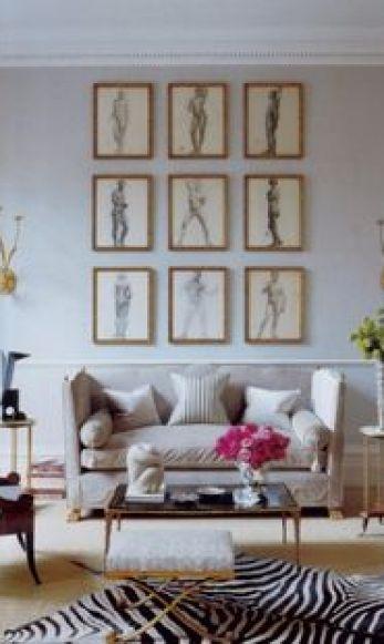 Gallery Wall via La Dolce Vita Blog