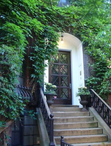 Gorgeous Townhome Entry via Pinterest